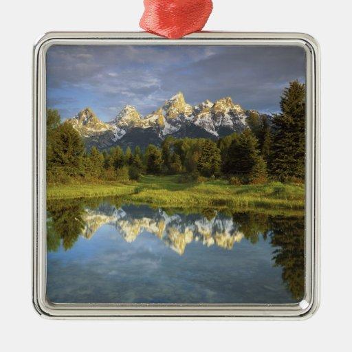 USA, Wyoming, Grand Teton National Park. Grand 2 Christmas Tree Ornaments