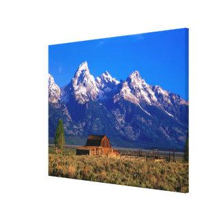 USA, Wyoming, Grand Teton National Park, Morning Canvas Print