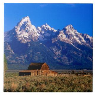 USA, Wyoming, Grand Teton National Park, Morning Ceramic Tile
