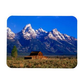 USA, Wyoming, Grand Teton National Park, Morning Rectangular Photo Magnet