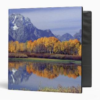 USA, Wyoming, Grand Teton National Park. Mt. 3 Ring Binder