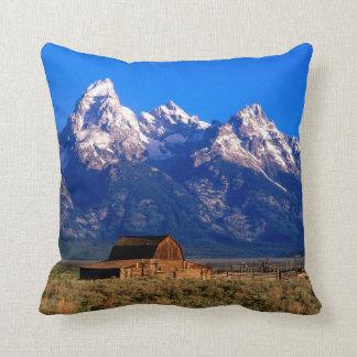 USA, Wyoming, Grand Teton National Park Throw Pillow