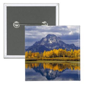 USA, Wyoming, Grand Teton NP. Against the Button
