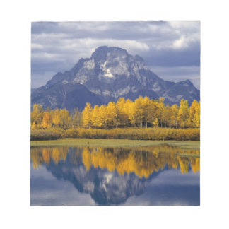 USA, Wyoming, Grand Teton NP. Against the Scratch Pad