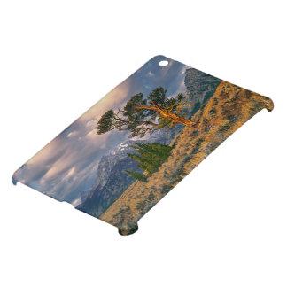 USA, Wyoming, Grand Teton NP. Sunrise greets a iPad Mini Covers