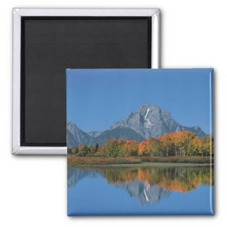 USA, Wyoming, Grand Tetons National Park in 4 Magnet