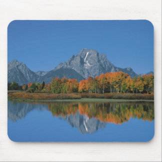 USA, Wyoming, Grand Tetons National Park in 4 Mouse Pad