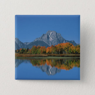 USA, Wyoming, Grand Tetons National Park in 4 Pinback Button
