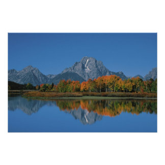 USA, Wyoming, Grand Tetons National Park in 4 Poster