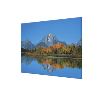 USA, Wyoming, Grand Tetons National Park in Canvas Print