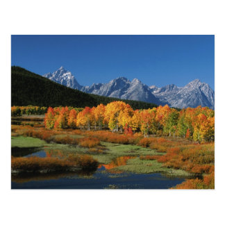 USA, Wyoming, Grand Tetons National Park in Postcard