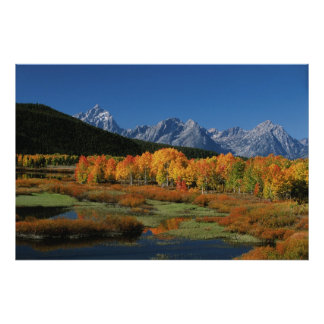 USA, Wyoming, Grand Tetons National Park in Poster