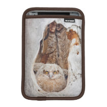USA, Wyoming, Lincoln County, Great Horned Sleeve For iPad Mini