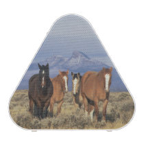 USA, Wyoming, near Cody Group of horses, Heart Bluetooth Speaker