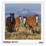 USA, Wyoming, near Cody Group of horses, Heart Wall Graphic