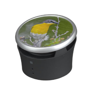 USA, Wyoming, Yellow-breasted Chat Icteria 2 Bluetooth Speaker