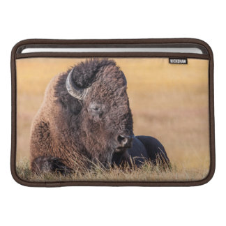 USA, Wyoming, Yellowstone National Park, Bison MacBook Sleeve