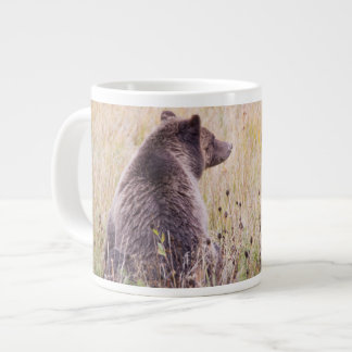USA, Wyoming, Yellowstone National Park, Grizzly 2 Large Coffee Mug