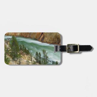 USA, Wyoming, Yellowstone National Park Luggage Tag