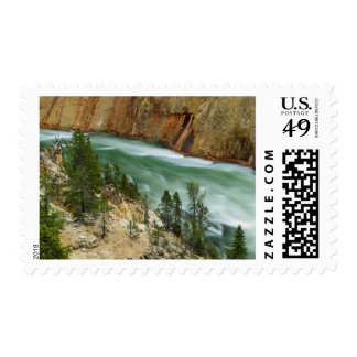 USA, Wyoming, Yellowstone National Park Stamps