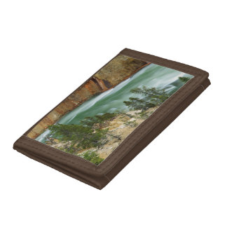 USA, Wyoming, Yellowstone National Park Tri-fold Wallet