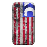 USA XC Cross Country Covers For iPhone 4