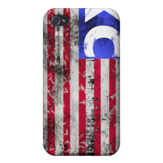 USA XC Cross Country iPhone 4 Cover