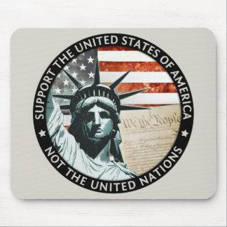 USA Yes, UN No Mouse Pad
