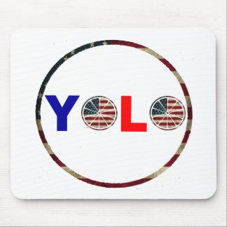 USA YOLO  Mousepad