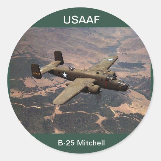 USAAF B-25 Mitchell Sticker