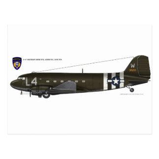 USAAF C-47 Skytrain Postcard
