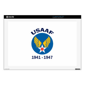 """USAAF Years Active 17"""" Laptop Skins"""