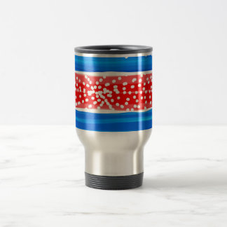USABubbles Stainless Steel 15oz TravelCommuter Mug