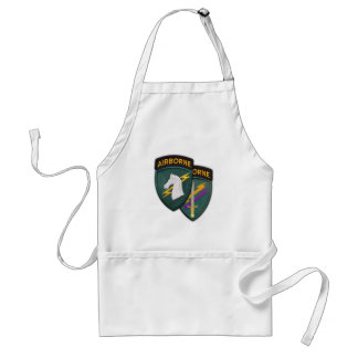 USACAPOC 1st Special Ops patch vets bbq apron