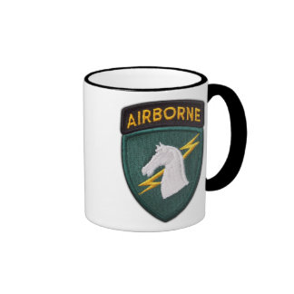 USACAPOC 1st Special Ops veterans patch cup Ringer Coffee Mug