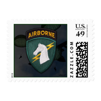 USACAPOC(A)  1st Special Ops Postage stamp