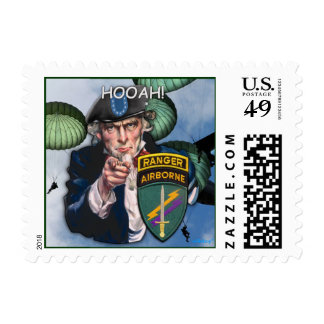 USACAPOC(A) Special Ops Vets Postage stamp