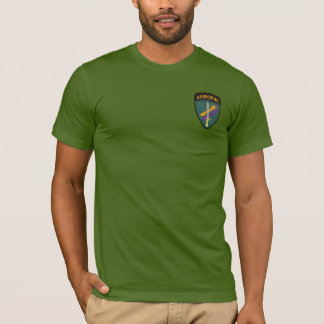 USACAPOC  Special Ops civil affairs Vets patch T-Shirt