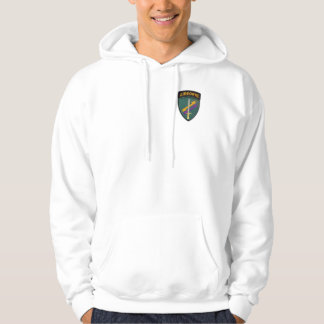 USACAPOC Special Ops veterans patch hoodie