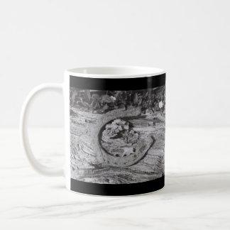 Usada suerte taza de café