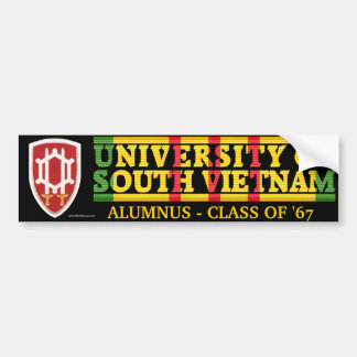 USAECV - U of South Vietnam Alumnus Sticker