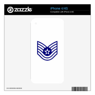 USAF E-6 TECH SERGEANT SKIN FOR THE iPhone 4S