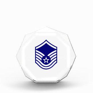 USAF E-7 MASTER SERGEANT ACRYLIC AWARD