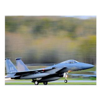 USAF Jet Fighter Aircraft Postcard