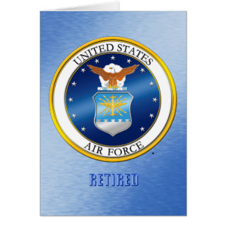 USAF Retired Greeting & Note Cards