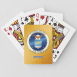 "USAF Retired Playing Cards<br><div class=""desc"">Show your pride in the U.S. Air Force with this gift.  This design was created by a former U.S. Air Force dependent and an U.S. Army disabled veteran.
