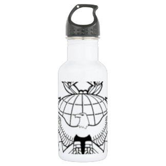 USAF Security Forces Function Badge Command LVL.. Stainless Steel Water Bottle