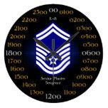 USAF / Senior Master Sergeant E-8 Wallclock