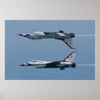 USAF Thunderbirds Calyspo Poster