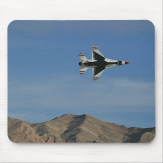 USAF Thunderbirds Solo Minimum Radius Turn pad Mouse Pad